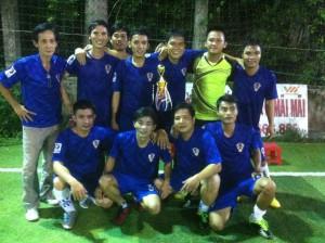 Inox FC - Những nhà vô địch của giải đấu.