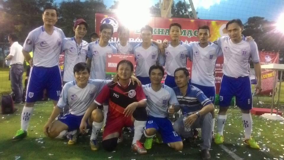 Đội Minh Hưu Liên tham dự giải bóng đá ngành Thép lần 2(2016-2017)